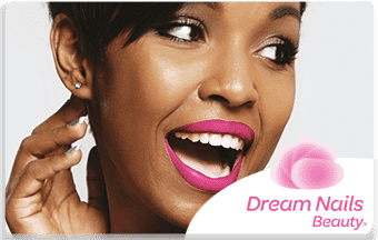 Dream nails pre-paid or gift card